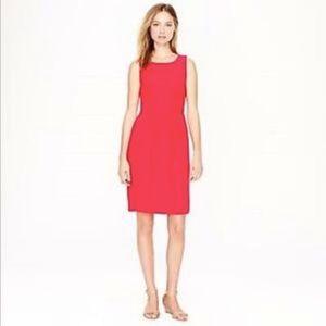 J. Crew | Salmon Sleeveless Camille Dress Size 4